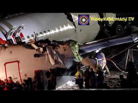 Pegasus Air Crashed in Istanbul's Sabiha Gokcen Airport