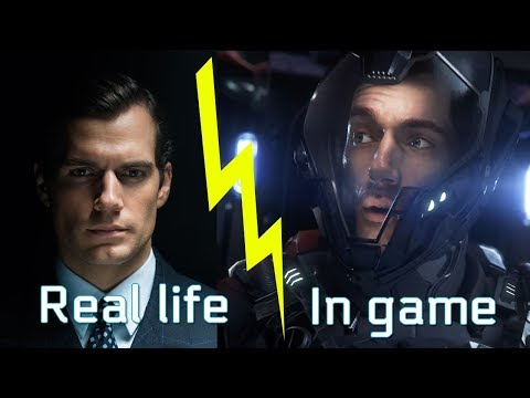 Star Citizen Squadron 42: Actors in real life vs Characters