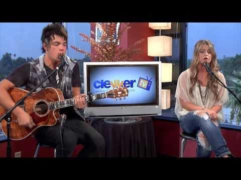 "Savannah Outen & Josh Golden Live Performance ""With You Tonight"""