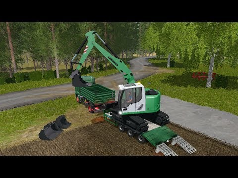 Farming Simulator 17 - Forestry and Farming on The Valley The Old Farm 075 thumbnail