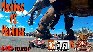 Rc Crawlers VS Eléphant : Machines VS Machines de l'île de Nantes