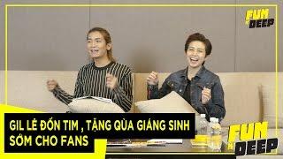gil le don tim  tang qua giang sinh som cho fans  fun n deep show