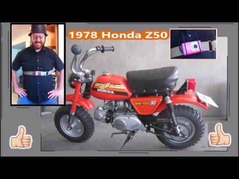 1978 Honda Z50 ride