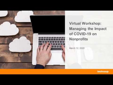 Managing The Impact Of COVID 19 On Nonprofits