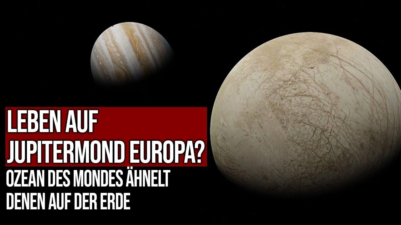 Leben auf Jupitermond Europa? - Ozean des Mondes ähnelt denen auf der Erde