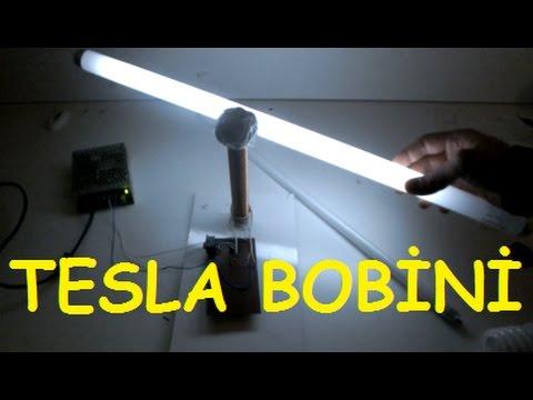 TESLA BOBİNİ NASIL YAPILIR - HOW TO MAKE TESLA COIL !!