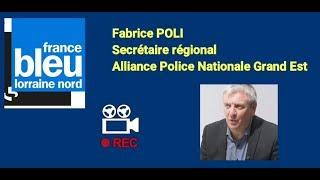 Bilan sécurité G7 Metz Fabrice Poli sur France bleu Lorraine Nord 070519