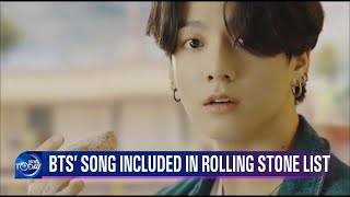 BTS' SONG INCLUDED IN ROLLING STONE LIST (News Today) l KBS WORLD TV 210916