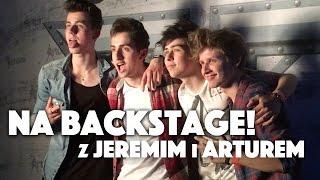 JEREMI I ARTUR SIKORSCY NA BACKSTAGE'U! | Między Nami [w terenie]