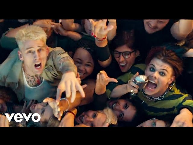 Machine Gun Kelly, YUNGBLUD, Travis Barker - I Think I'm OKAY [Official Music Video]