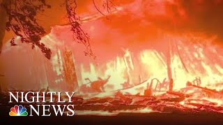 Wildfires Leaves Paradise, California Unrecognizable | NBC Nightly News