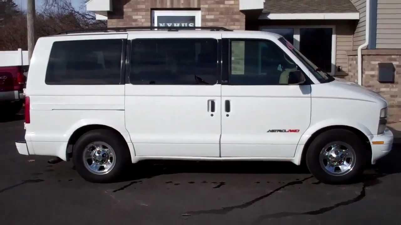 2001 Chevrolet Astro Van All Wheel Drive Youtube