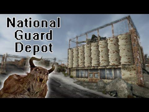New Vegas Mods:National Guard Depot