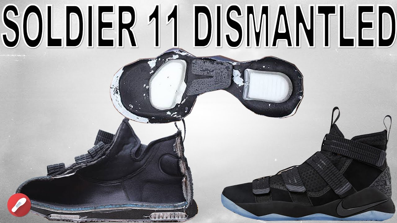5ca377aae73 Nike Lebron Soldier 11 DISMANTLED! - YouTube