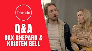 Dax Shepard & Kristen Bell Talk Couples Therapy, Dream Days Off and Why Colors Drive Them Crazy