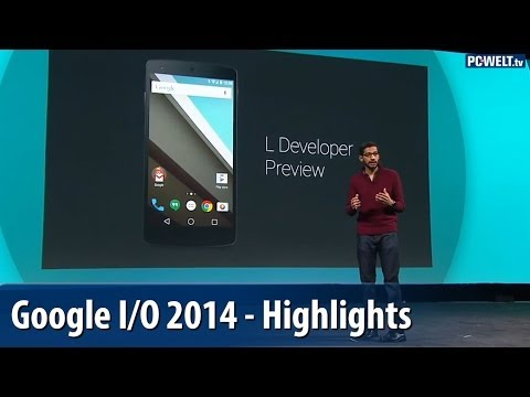 Android 5, Android Wear, Android Auto - Die Highlights der Google I/O 2014| deutsch / german