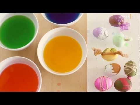 Como pintar huevos de pascua how to easter eggs hacer for Como pintar huevos de pascua