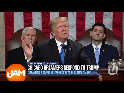 Chicago Dreamers Returning from DC Give Thoughts SOTU