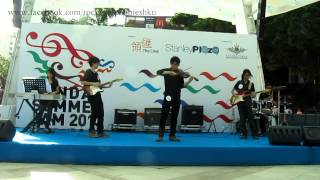 HKU Rock Symphonies Live Band Performance - Summer (From the Four Seasons by Vivaldi)