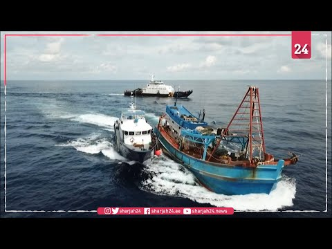 Indonesia arrests Vietnamese fishing boats near South China Sea