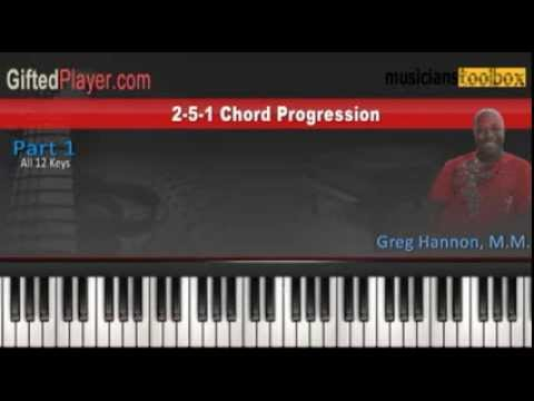 2 5 1 Progression For Gospel Jazz Musicians Youtube