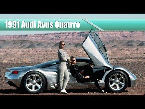Amazing But Forgotten Concept Cars: 1991 Audi Avus Quatrro