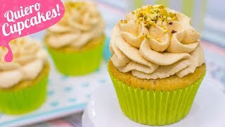 CUPCAKES DE PISTACHO Y CARAMELO | Quiero Cupcakes!