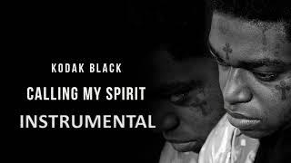 Kodak Black -  Calling My Spirit (INSTRUMENTAL) Video