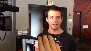 Jake Bentley talks football, hoops