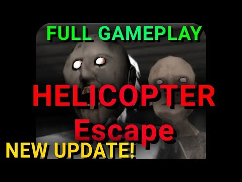 Granny Chapter Two New Update HELICOPTER ESCAPE 1.1 FULL GAMEPLAY