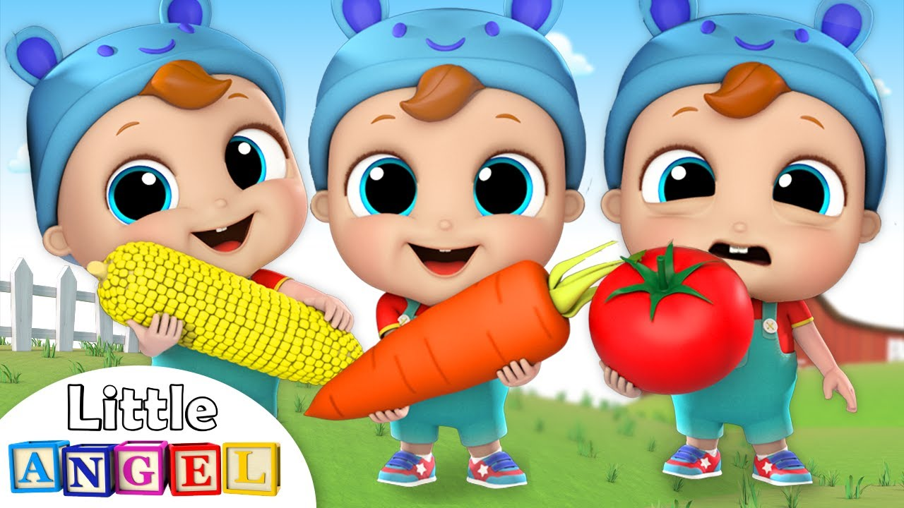 Yes Yes Vegetables | Nursery Rhymes and Kids Songs by Little Angel