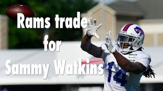 The Rams Acquire Sammy Watkins in Trade with Bills| Los Angeles Times thumbnail