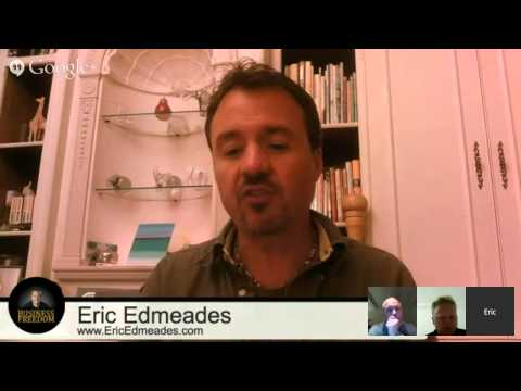 LIVE Interview: Speakers Club in Copenhagen Interviews Eric Edmeades on Business Freedom