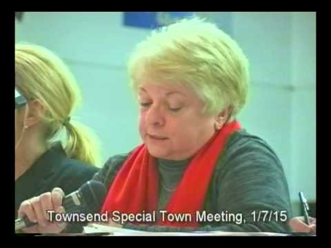 Special Town Meeting Townsend, MA January 7, 2015