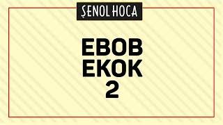 Tyt Ebob Ekok 2 Şenol Hoca Matematik