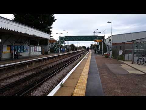 Tangmere steam train through angmering station