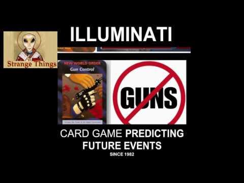 Illuminati Card Game Predicting Future Events - WW3 - Muslims - Martial Law...