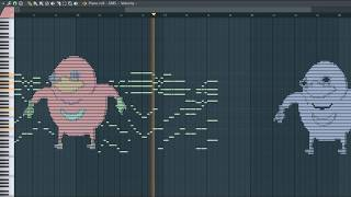 What VRChat Sounds Like, sounds knuckles - MIDI Art