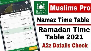 Muslim Pro App Use Kaise Kare / Namaz time table / Ramadan time table 2021 / in Hindi screenshot 5