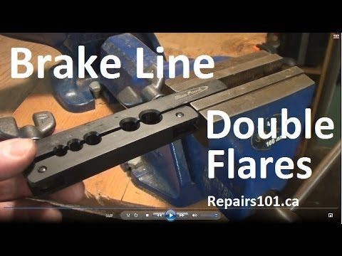 How To Flare A Brake Line >> Brake Line Double Flares