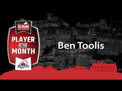 SCRUM Player of the Month for March | Ben Toolis