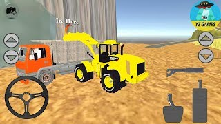 Stone Pit Dozer Simulator | Android GamePlay [FHD]