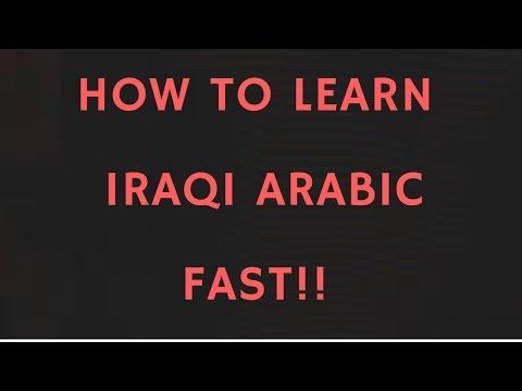 Learning Basic IRAQI ARABIC! - Part 1 (Gilit)