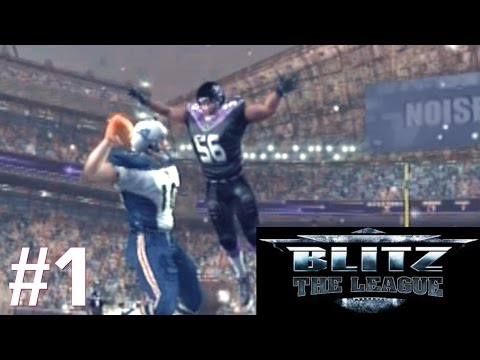 BLITZ THE LEAGUE PS2 CAMPAIGN PART 1: CREATION AND DEBUT!