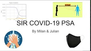 Mathematics vs COVID-19 - High School Student Project