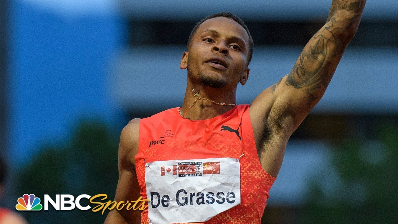 De Grasse Comes From Behind to Take Diamond League 200m | NBC Sports