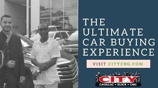 Mr. Wallstein picks up his 2017 Cadillac XT5 -City Cadillac Buick GMC