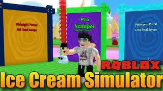 NOVÉ DIMENZE! 😱 | ROBLOX: Ice Cream Simulator #3