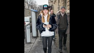 Thylane Blondeau, 16, goes casual as she for coffee run in Paris