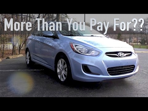 2012 Hyundai Accent Review, a Small Car That Isn t a Penalty Box